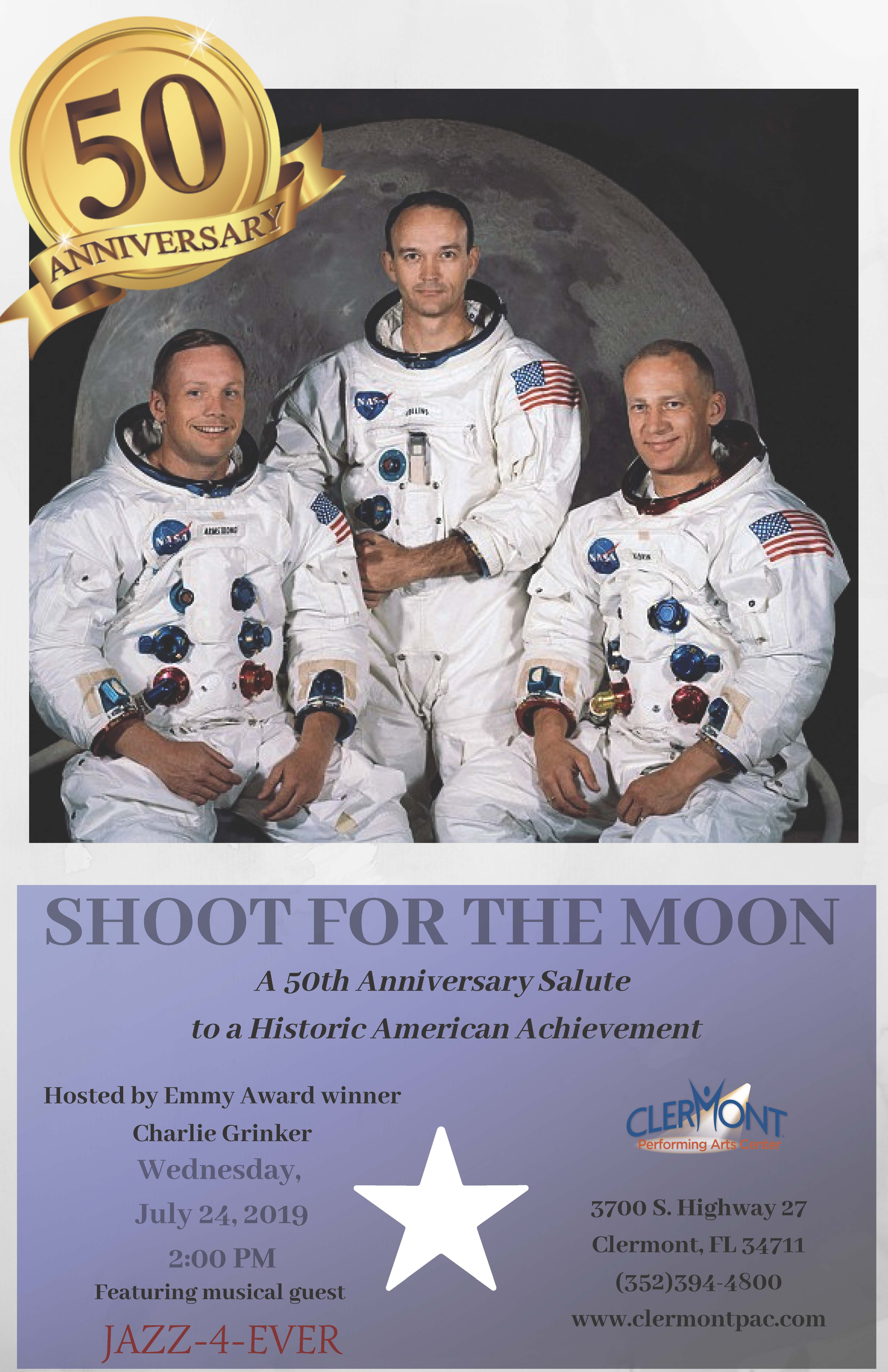 Poster for Shoot for the Moon show
